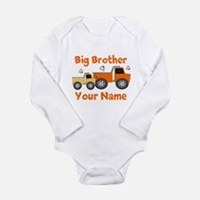 Big Brother Truck Long Sleeve Infant Bodysuit