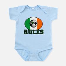 Irish Celtic Football Rules Infant Bodysuit