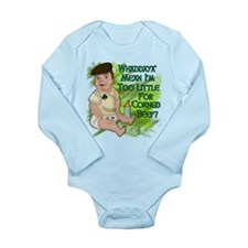 Too Little for Corned Beef Long Sleeve Infant Body
