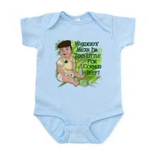 Too Little for Corned Beef Infant Bodysuit