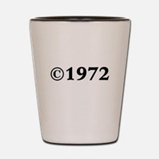 1972 Shot Glass