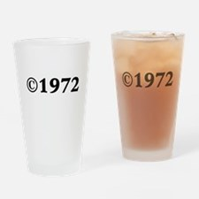 1972 Drinking Glass