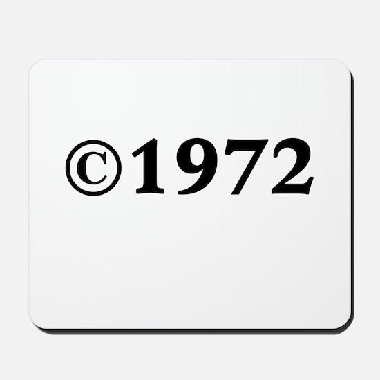 1972 Mousepad