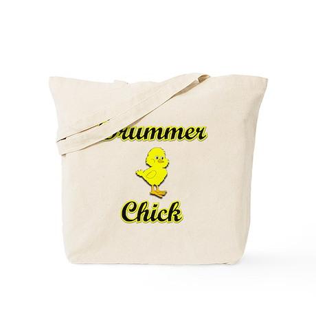 Drummer Chick Tote Bag