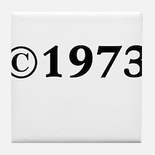 1973 Tile Coaster