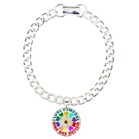 I love someone who has autism Charm Bracelet, One