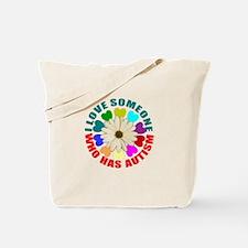 I love someone who has autism Tote Bag