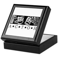 Classical Actor Keepsake Box