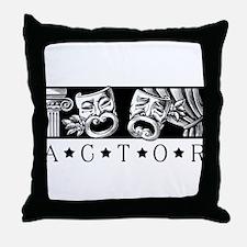 Classical Actor Throw Pillow