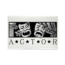 Classical Actor Rectangle Magnet (10 pack)