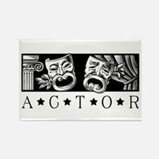Classical Actor Rectangle Magnet (100 pack)