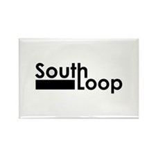 South Loop Rectangle Magnet