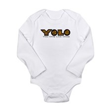YOLO Tiger Long Sleeve Infant Bodysuit