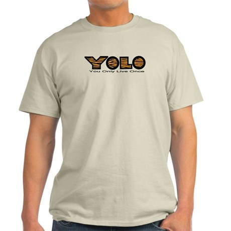 YOLO Tiger Light T-Shirt