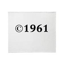 1961 Throw Blanket