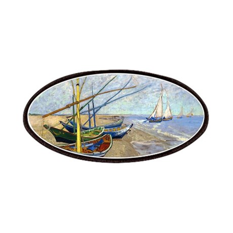 Van Gogh Fishing Boats Patches