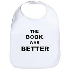 The Book was Better (Light) Bib