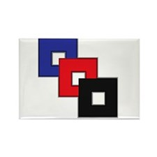Polyamory Pride Rectangle Magnet