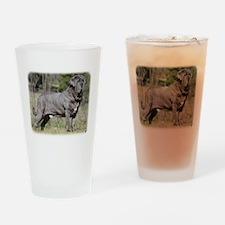 Neapolitan Mastiff AA021D-045 Drinking Glass