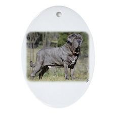 Neapolitan Mastiff AA021D-045 Ornament (Oval)