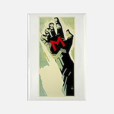 Fritz Lang's M Rectangle Magnet