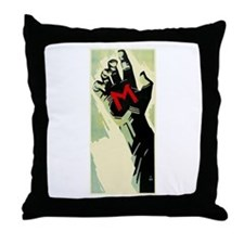 Fritz Lang's M Throw Pillow