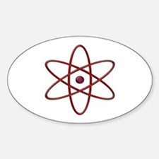 """Orbit, Infra-Red"" Oval Decal"