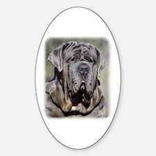 Neapolitan Mastiff AA021D-048 Sticker (Oval)