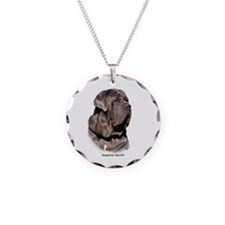 Neapolitan Mastiff 9Y393D-045 Necklace