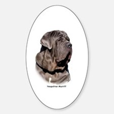 Neapolitan Mastiff 9Y393D-045 Sticker (Oval)