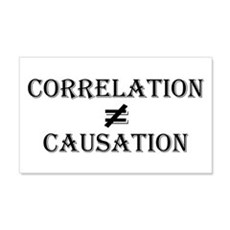 Correlation Causation Wall Decal