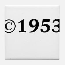 1953 Tile Coaster
