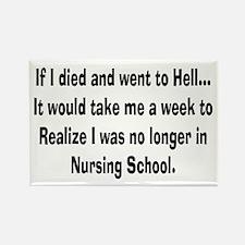 Funny Nursing Student Rectangle Magnet (10 pack)