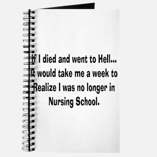 Funny Nursing Student Journal