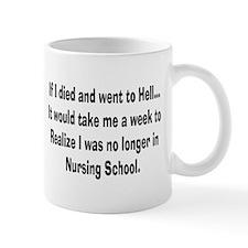 Funny Nursing Student Mug
