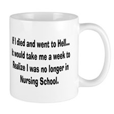 Funny Nursing Student Small Mug