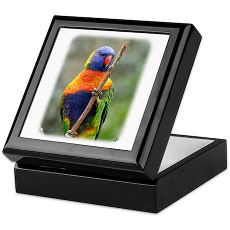 Rainbow Lorikeet 9Y209D-181 Keepsake Box