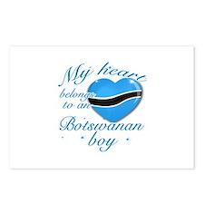 My heart belongs to a Botswanan boy Postcards (Pac
