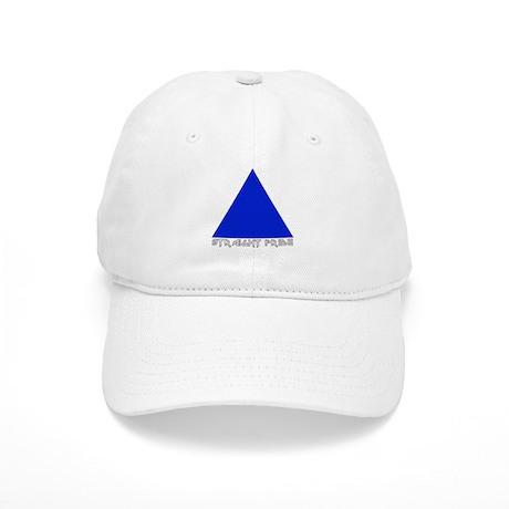 Straight Pride Metal Logo Cap