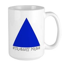 Straight Pride Metal Logo Mug