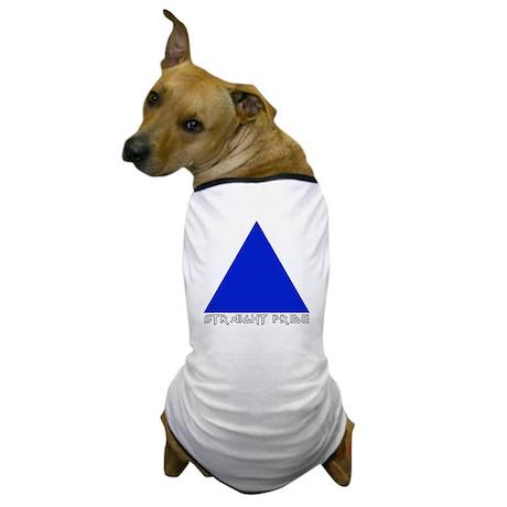 Straight Pride Metal Logo Dog T-Shirt