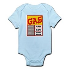 High Gas Prices Infant Creeper