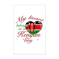 My heart belongs to a Kenyan boy Posters