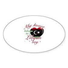My heart belongs to a Libyan boy Decal