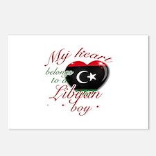 My heart belongs to a Libyan boy Postcards (Packag