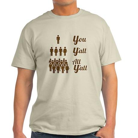 Texas Grammar Lesson Light T-Shirt