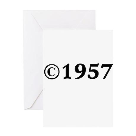 1957 Greeting Card