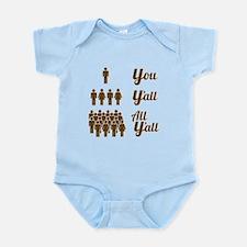 All Y'all Infant Bodysuit