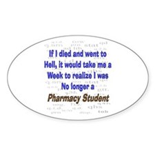 Pharmacist Humor Decal
