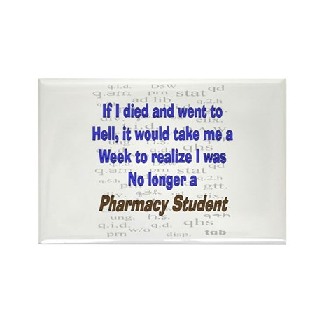 Pharmacist Humor Rectangle Magnet